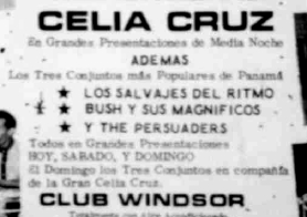 club windsor poster